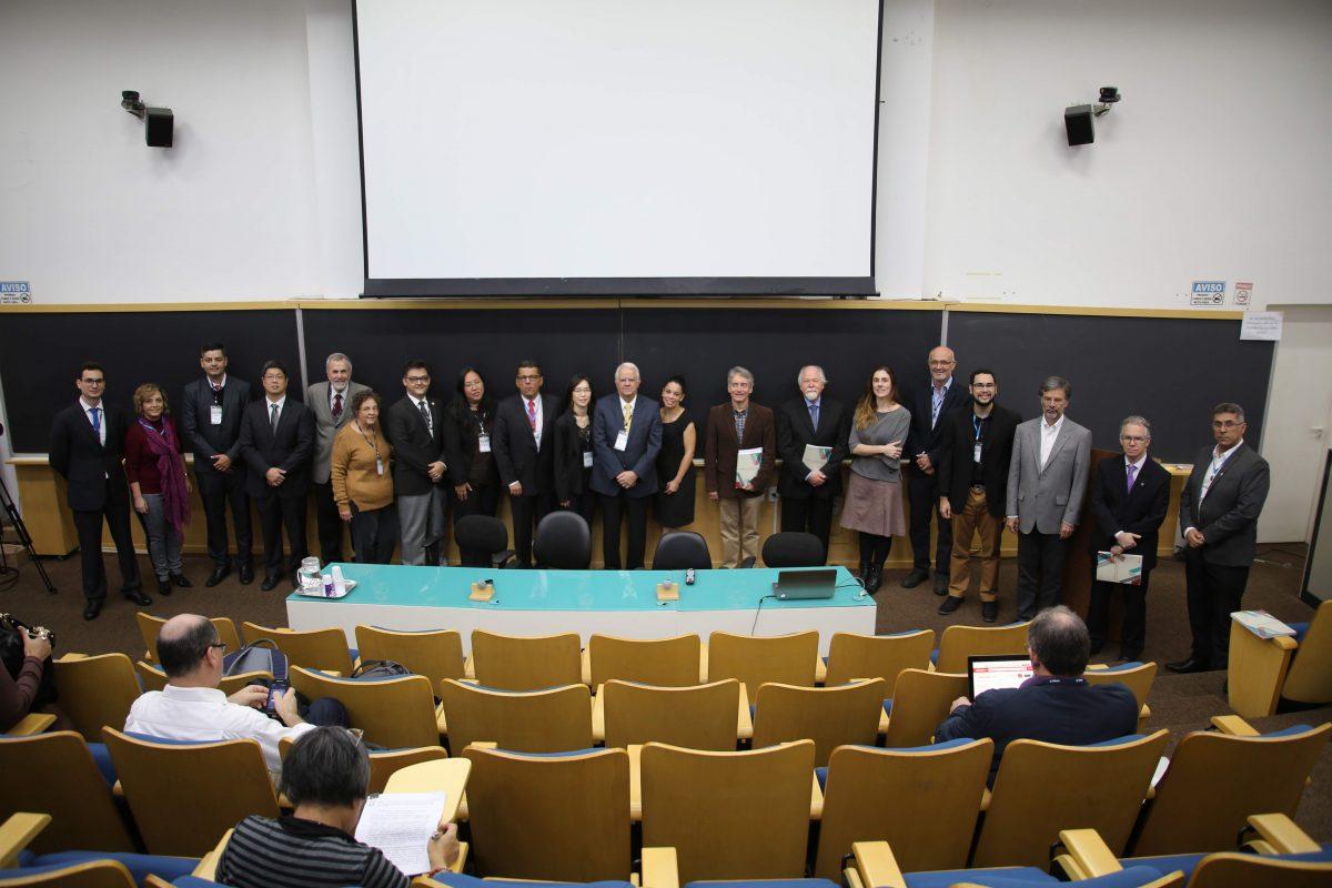 Participantes do Workshop no IFT UNESP - São Paulo